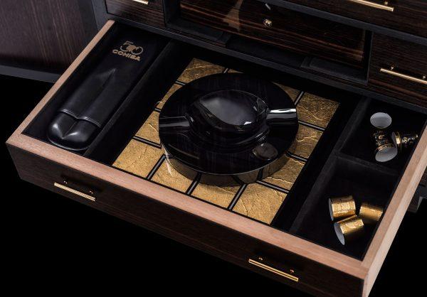 Ashtray & Cigar Case